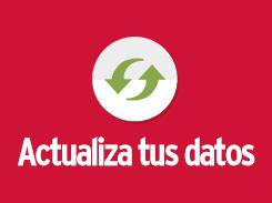 Actualiza ahora tus datos