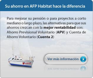 Con APV y Cuenta 2 haga la diferencia